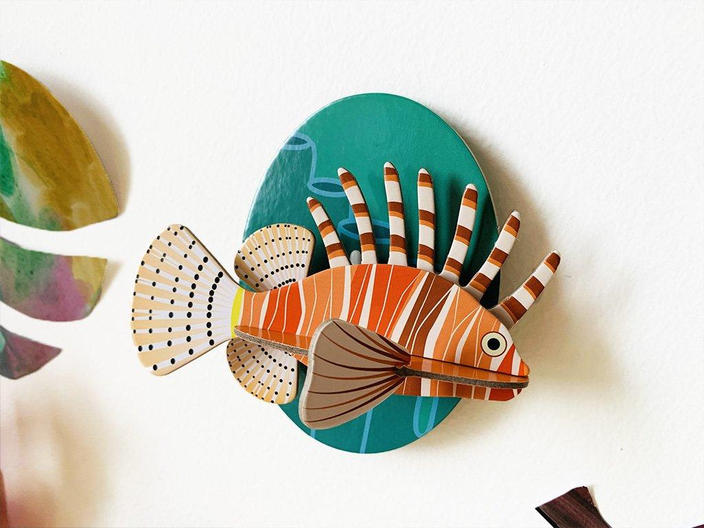 Perutýn ohnivý ❤️ od Studio ROOF _ Kreativní dekorace do dětského pokoje typu Montessori pro děti od 1 roku, od 2 let, od 3 let, od 4 let _ lupavkapse.cz
