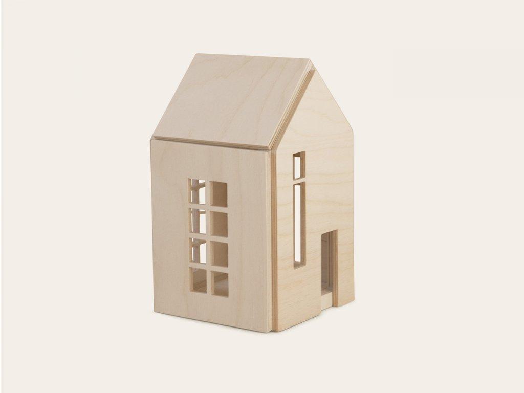 PŘÍRODNÍ domeček pro panenky a víly (vel. M) ❤️ Babai Toys _ Nejprodávanější vzdělávací hračky typu Montessori pro děti od 3 let, od 4 let, od 5 let _ lupavkapse.cz