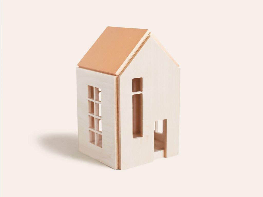 Domeček pro panenky a víly (vel. M) TERRA ❤️ Babai Toys _ Nejprodávanější vzdělávací hračky typu Montessori pro děti od 2 let, od 3 let, od 4 let _ lupavkapse.cz