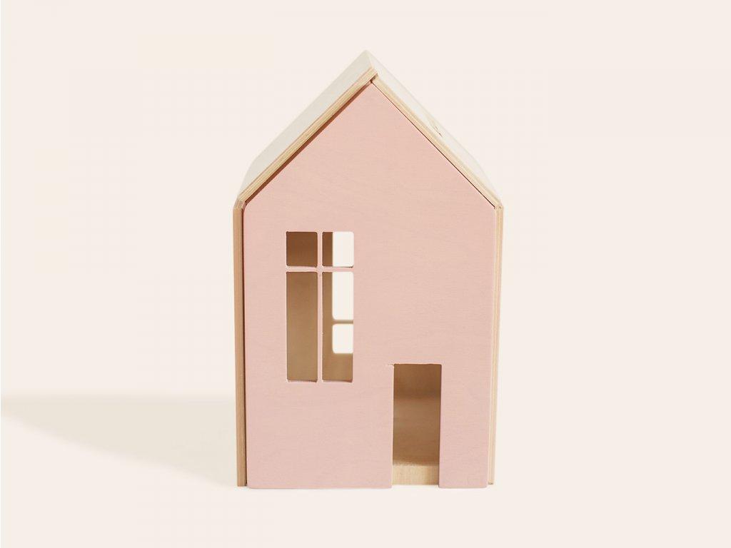 RŮŽOVÝ domeček pro panenky a obry (vel. L) ❤️ Babai Toys _ Nejprodávanější vzdělávací hračky typu Montessori pro rozvoj jemné motoriky pro děti od 3 let, od 2 let, od 1 roku _ lupavkapse.cz