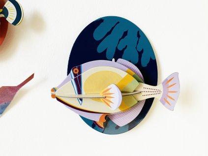 Ostenec Picassův ❤️ Mořští tvorové _ Studio ROOF _ Nejprodávanější dekorace do dětského pokoje typu Montessori pro děti 2 roky, 3 roky, 4 roky, 5 let _ lupavkapse.cz