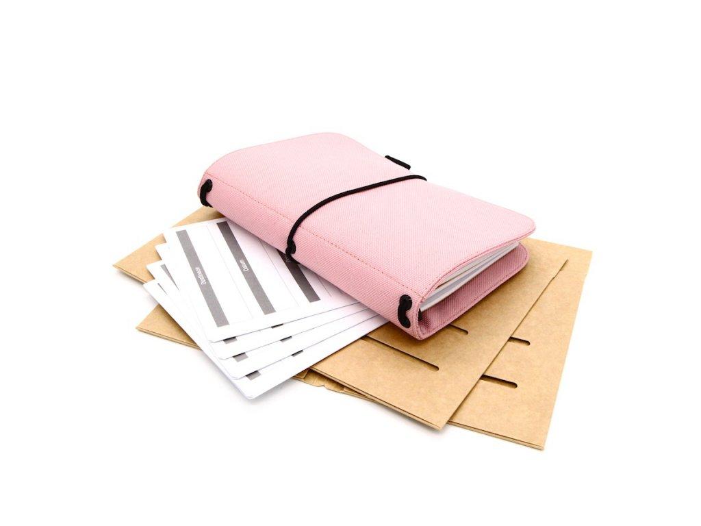 cestovatelský deník pink s 1