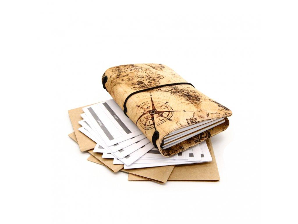 cestovatelský deník antique m 1