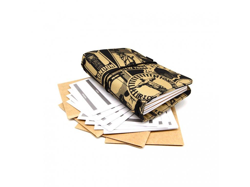 cestovatelský deník stamp m 1