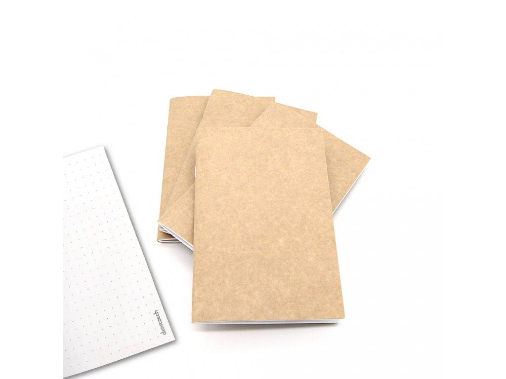 cestovatelské zápisníky tečkované 1
