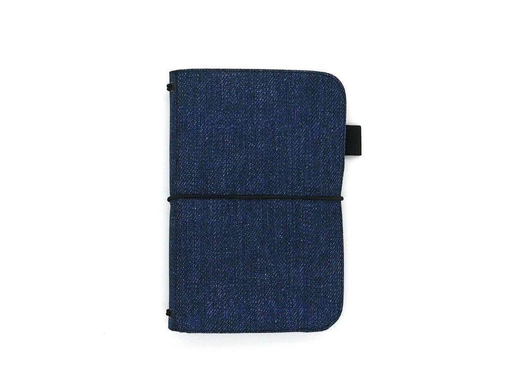 zápisník deník blok diář denim 01