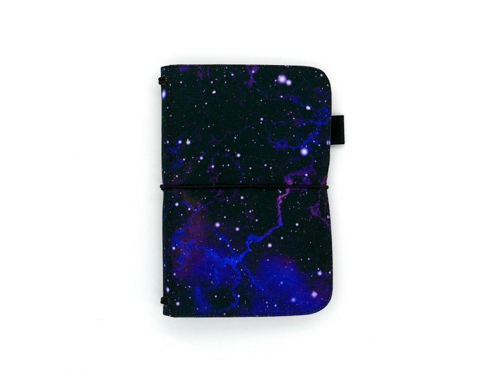 zápisník deník blok diář galaxy 01