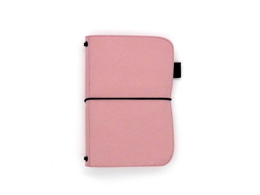 zápisník deník blok diář pink 01
