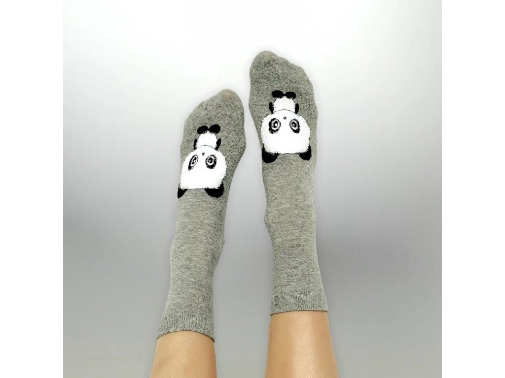 Veselé ponožky panda 2