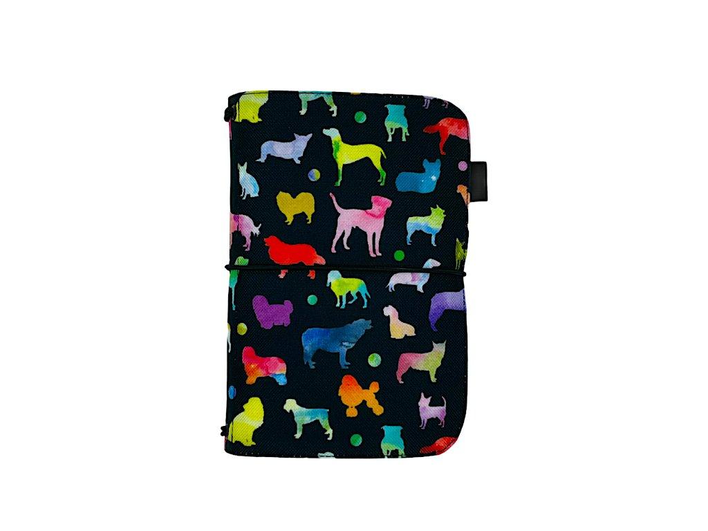 zápisník deník blok diář pes 1