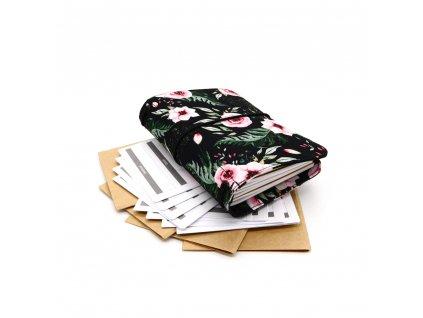cestovatelský deník flower m 1