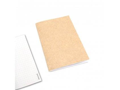 cestovatelský zápisník tečkovaný 1