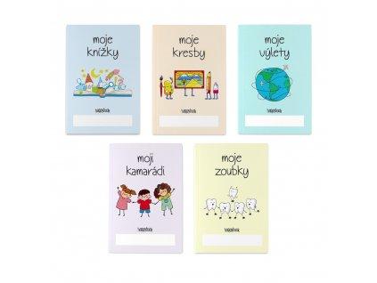 zápisník pro děti komplet