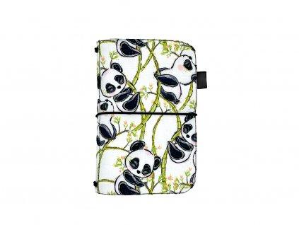 zápisník deník blok diář panda 1