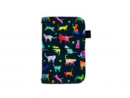 zápisník deník blok diář kočka 1