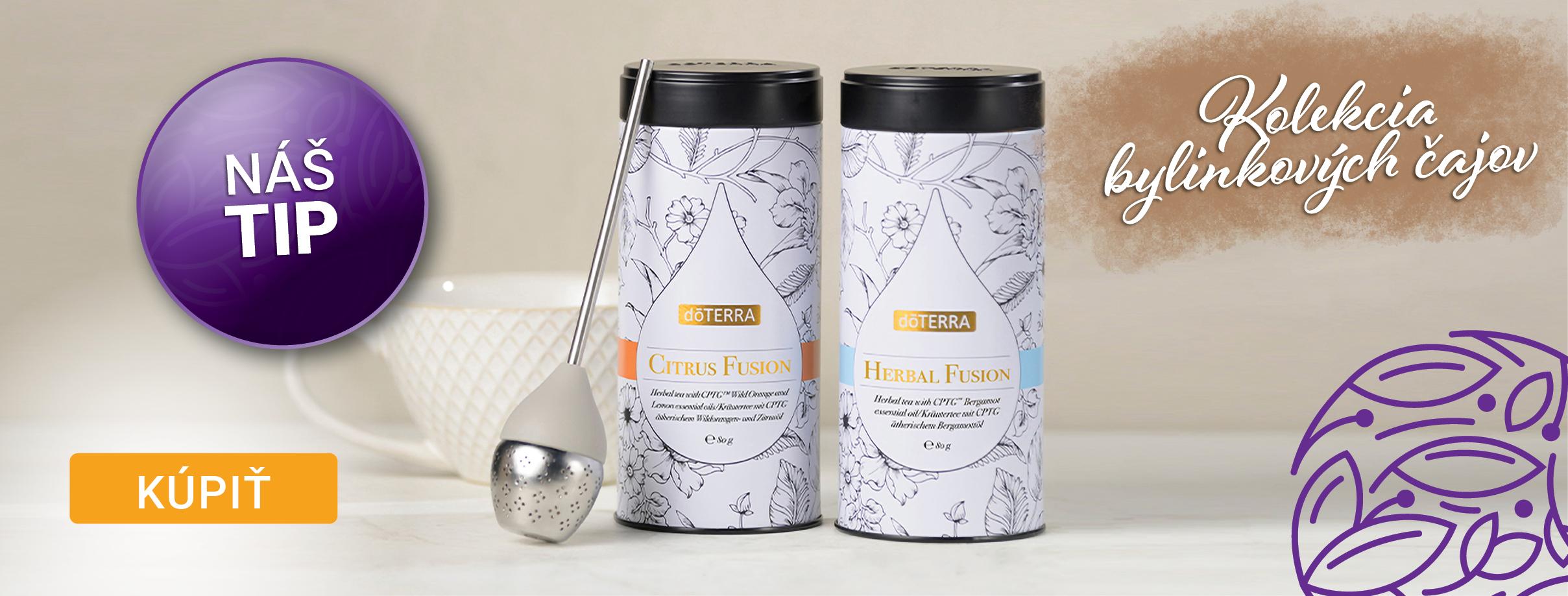 Doterra kolekcia bylynkových čajov