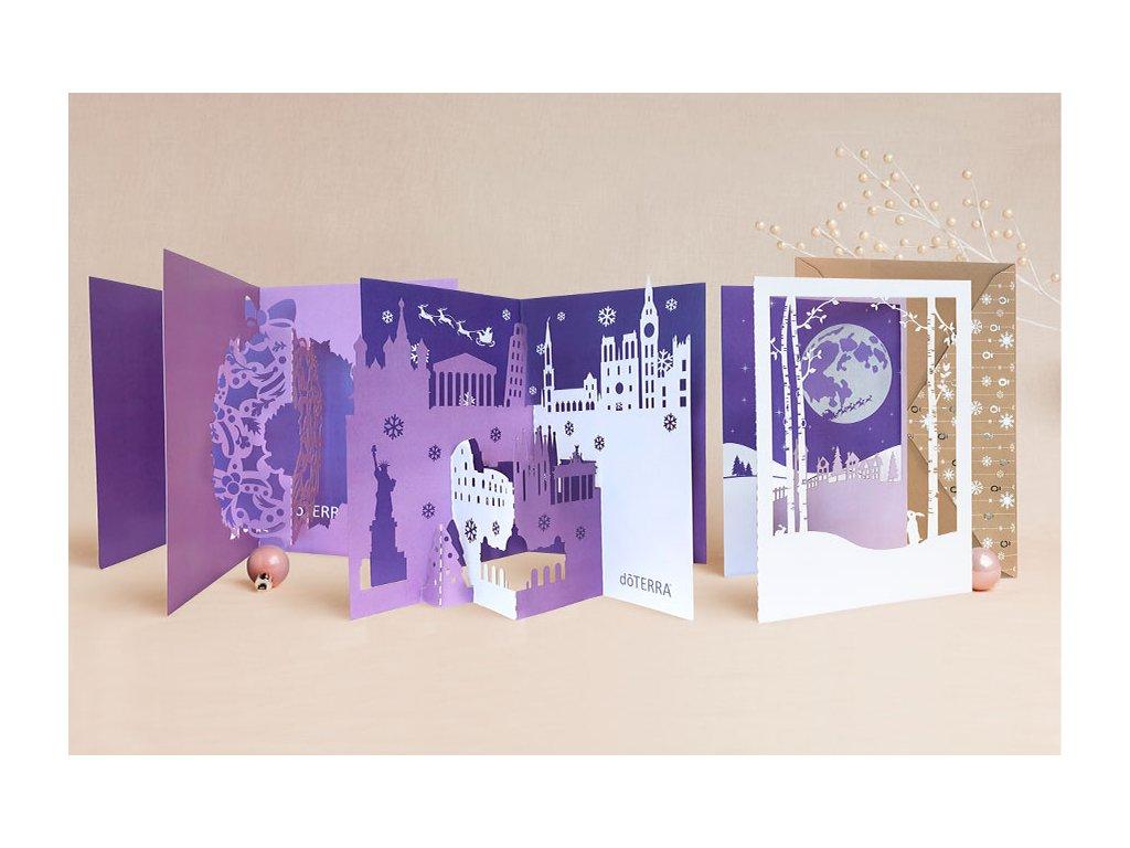 Sviatočné pohľadnice Doterra