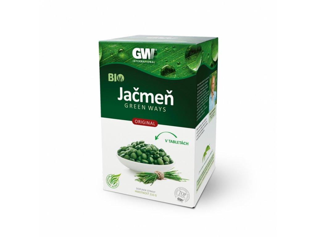 BIO jačmeň Green Ways tablety (210g)