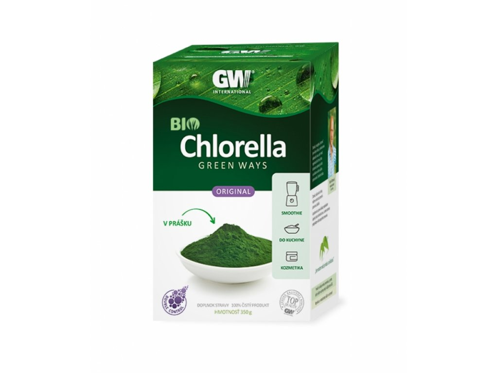 CHLORELLA Green Ways v prášku BIO (350g)