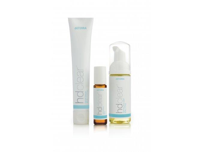 Doterra HD Clear Set na čistú pokožku (Facial Kit)
