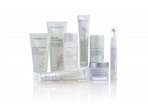 Doterra Systém starostlivosti o pleť s hydratačným krémom proti starnutiu (Essential Skin Care Kit) 8ks v 1bal.