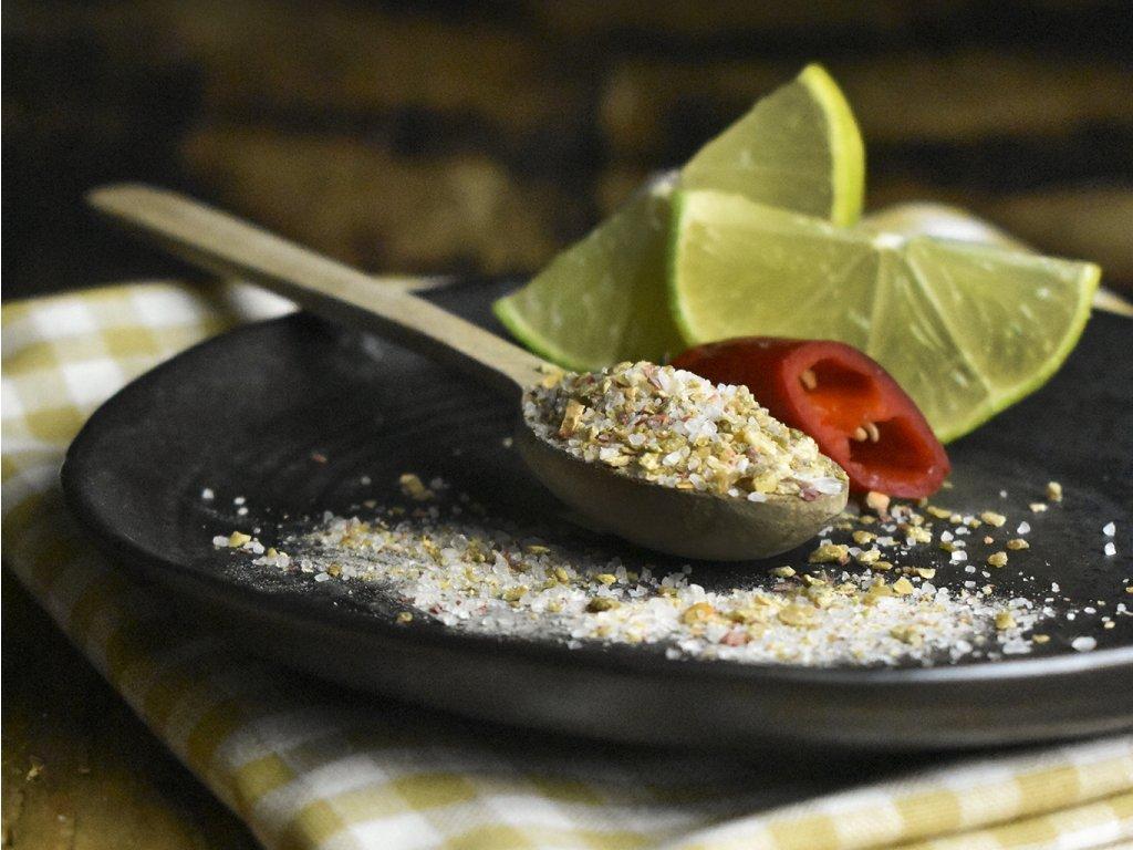 Limetka-chilli sůl 1000 g