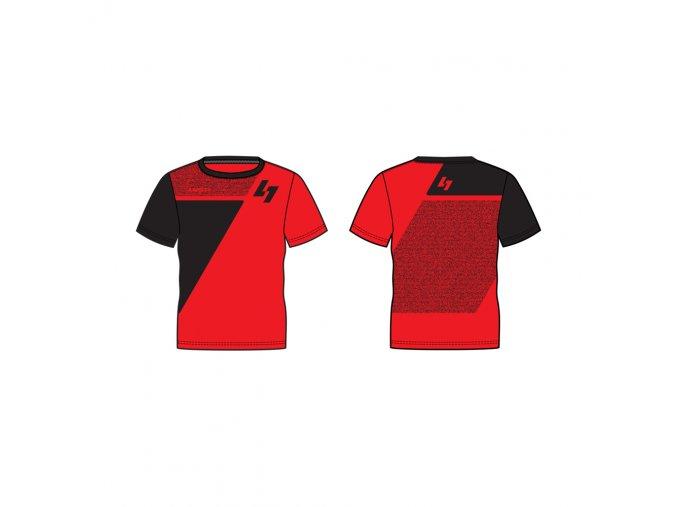 pánské triko LUSTI JOHN MICRO red