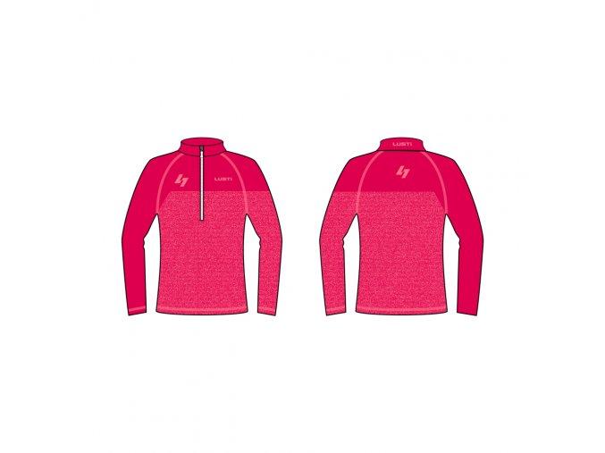 ski triko pink