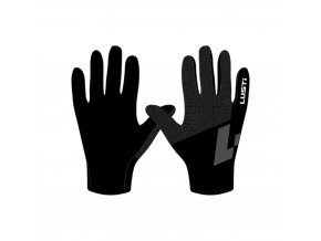 rukavice běžecké LUSTI BLACK vel. L