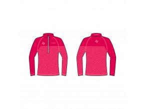 zateplené lyžařské triko LUSTI FLAP pink vel. L