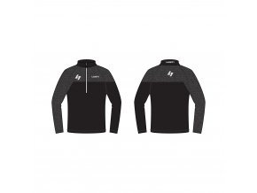 zateplené lyžařské triko LUSTI FLAP black