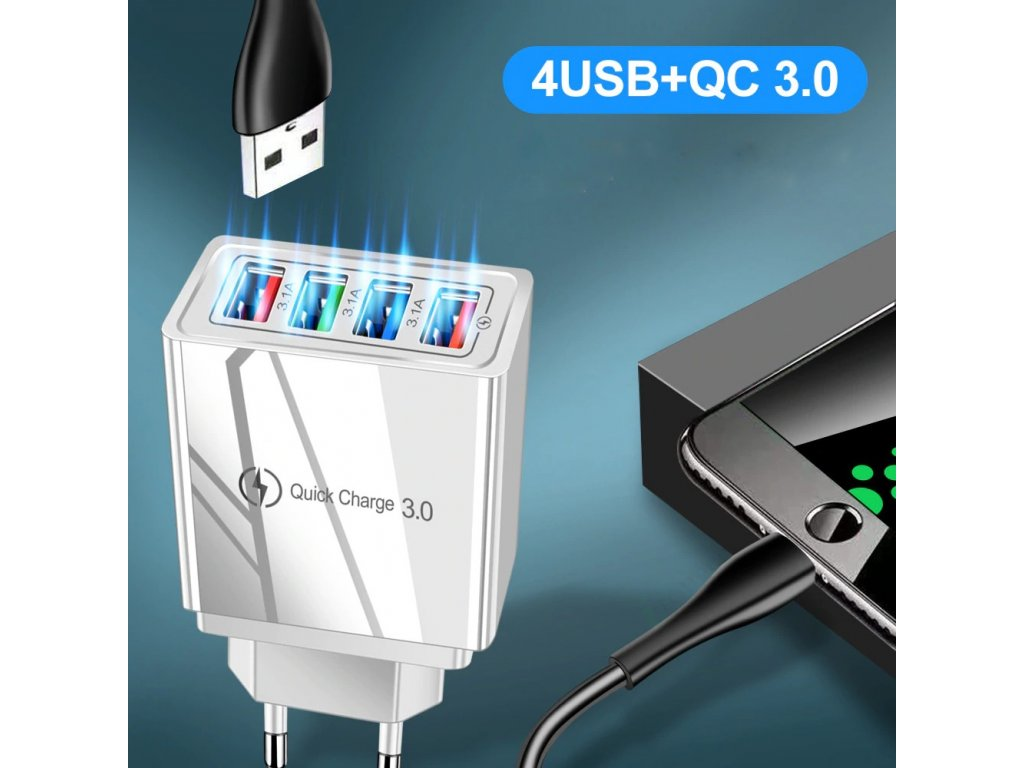 4 usb charger quick charge 3 0 4 0 port main 2hhh