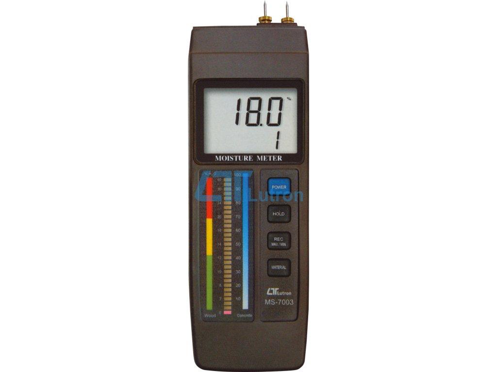 Material moisture meter LUTRON MS-7003
