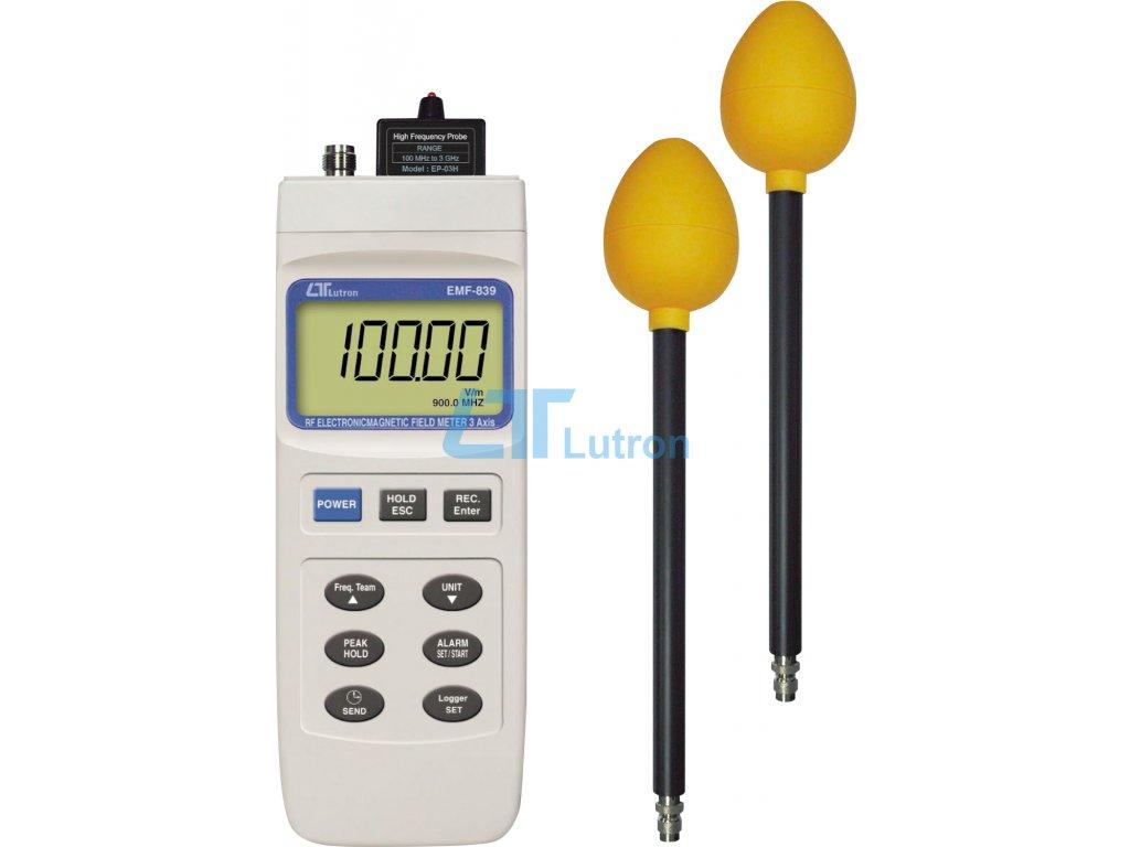 Electromagnetic field meter LUTRON EMF-839