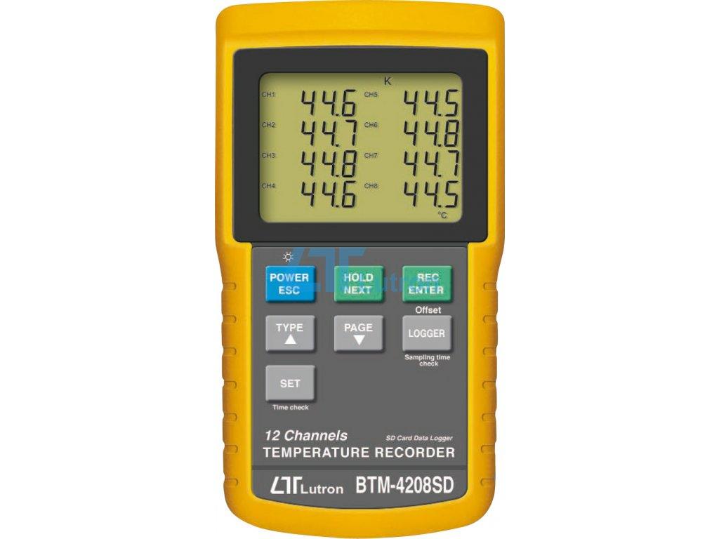thermometer LUTRON BTM-4208SD