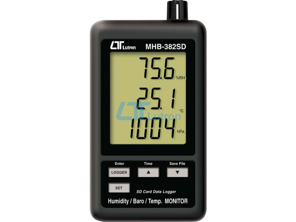 Humidity+thermometer+barometer LUTRON MHB-382SD