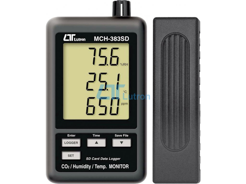 CO2+humidity+temperature meter MCH-383SD