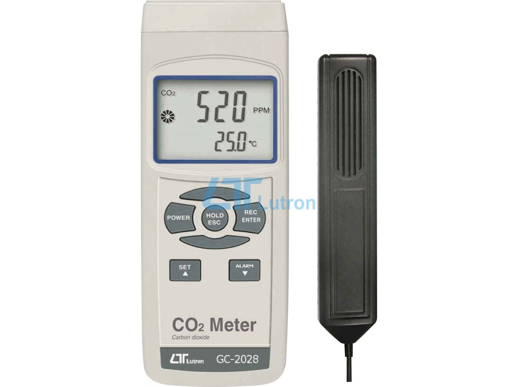 CO2 meter LUTRON GC-2028