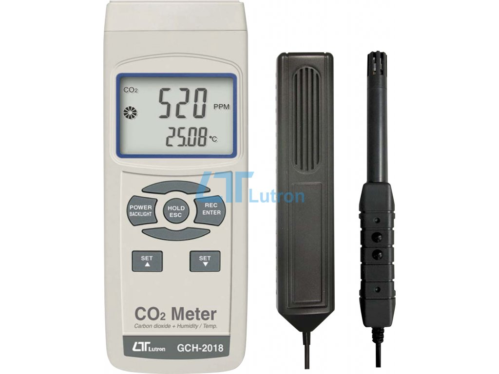 CO2 and humidity meter GCH-2018