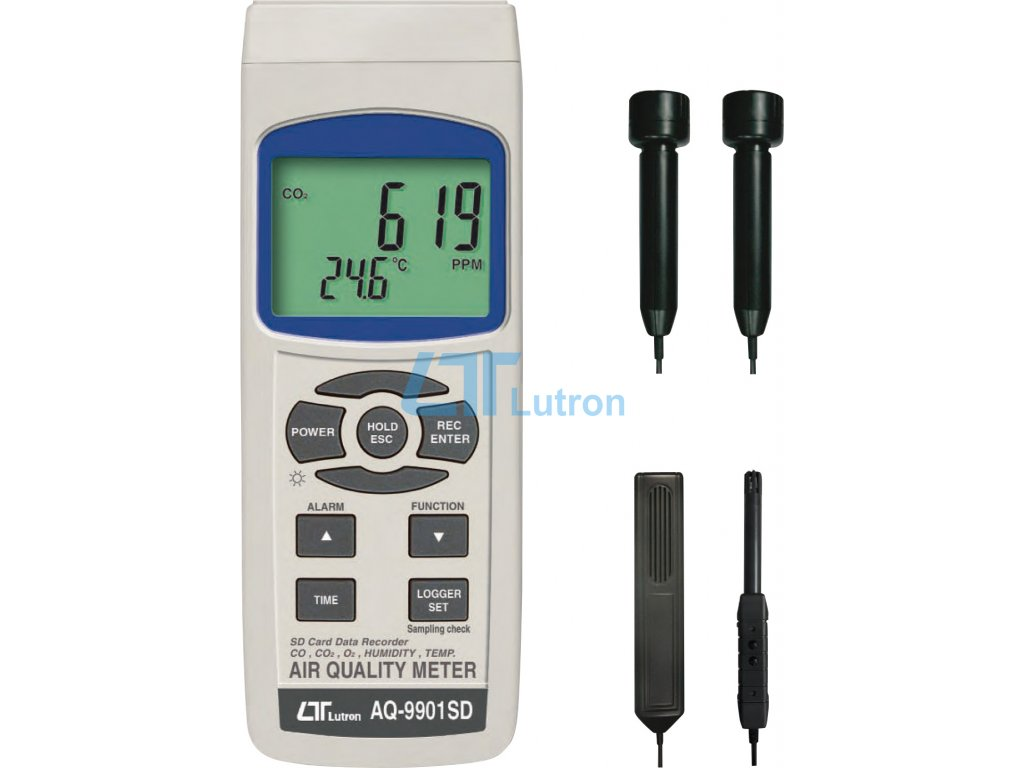 CO and CO2 meter AQ-9901SD