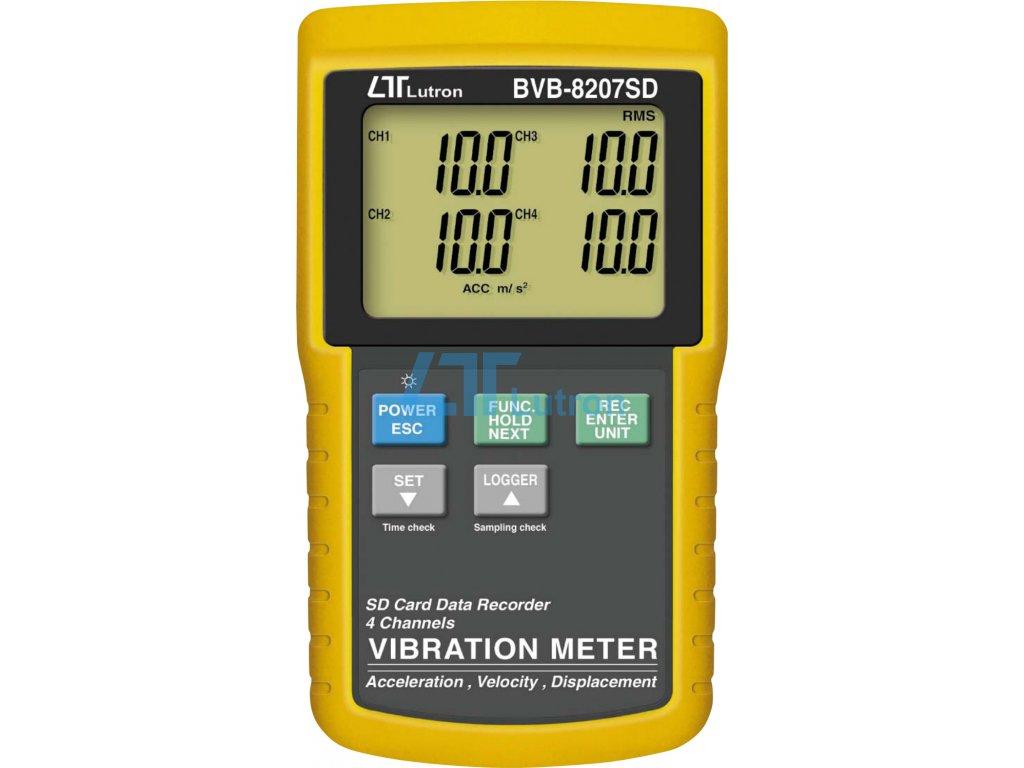 Vibration meter LUTRON BVB-8207SD