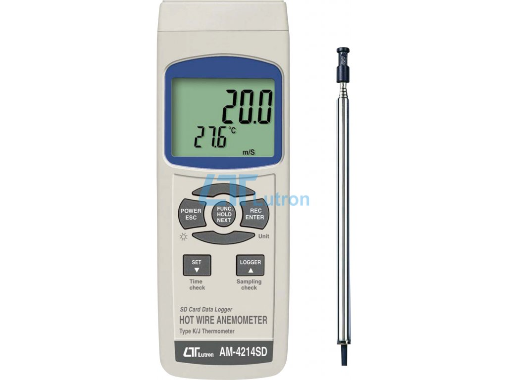 Anemometer LUTRON AM-4214SD