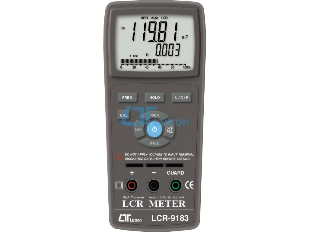 LCR meter LUTRON LCR-9183