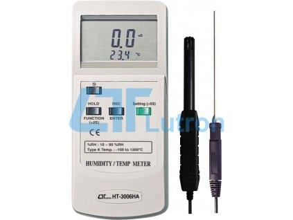 Humidity meter LUTRON HT-3006HA