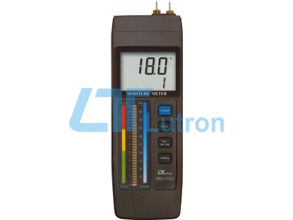 Material moisture meter LUTRON MS-7003