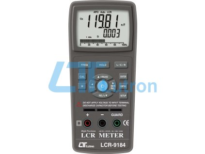LCR meter LUTRON LCR-9184