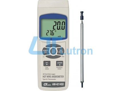 Anemometer LUTRON AM-4214SD