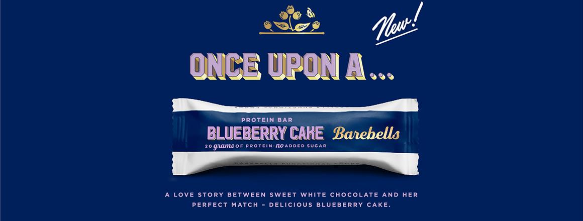 Barebells Protein Bar Blueberry Cake
