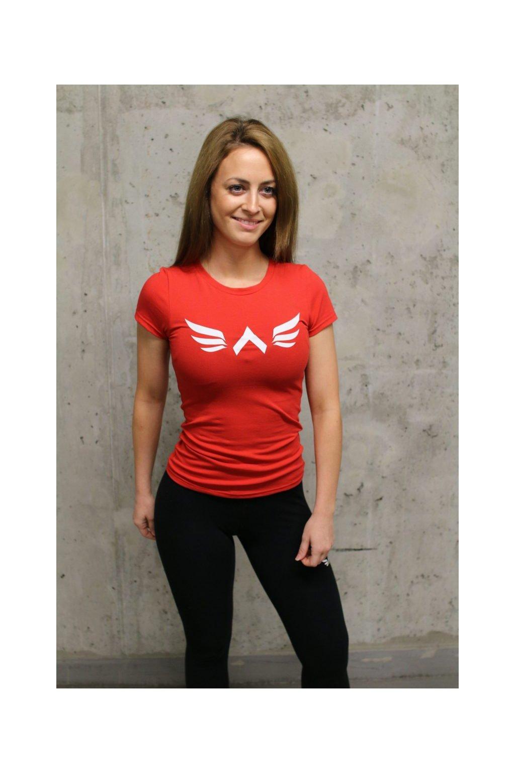 Exalted X1 dámske tričko červené