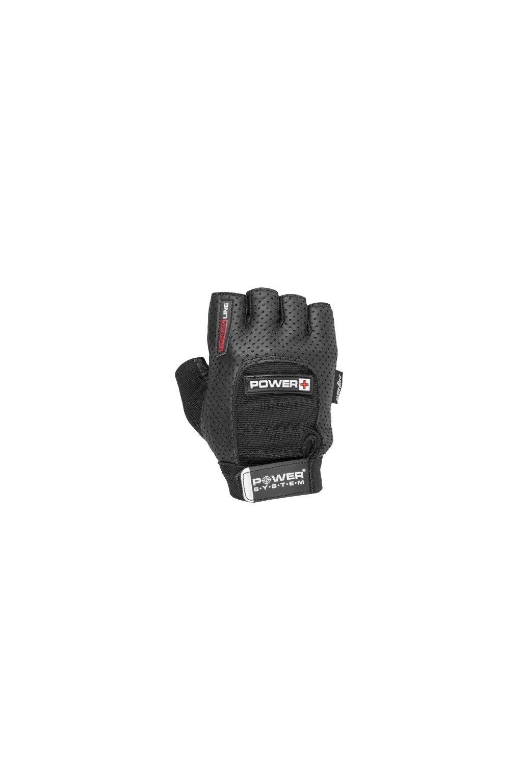 Power System fitness rukavice POWER PLUS čierne